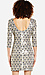Sequined Feather Shift Dress Thumb 2