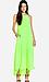 Line & Dot Pleated Maxi Dress Thumb 1