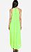 Line & Dot Pleated Maxi Dress Thumb 2