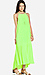 Line & Dot Pleated Maxi Dress Thumb 3