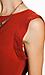 Line & Dot Deep V-Back Dress Thumb 4