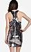 Line & Dot Mirror Sequin Halter Dress Thumb 2