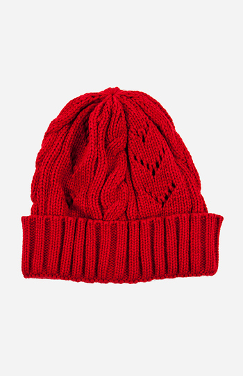 Cozy Knitted Beanie Slide 1