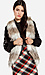 Two Tone Faux Fur Vest Thumb 1