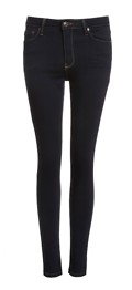 Just Black Uptown High-Waisted Skinny Jeans