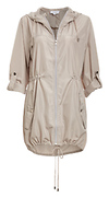 Waverly Hooded Lightweight Anorak Jacket
