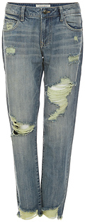 Hidden Jeans Distressed Straight Jeans