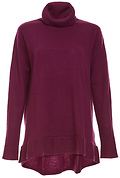 Velvet by Graham & Spencer 100% Featherweight Cashmere Turtleneck