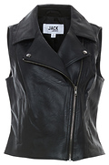 Jack by BB Dakota Textured Moto Vest Jacket