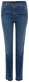 J Brand Ruby HR Raw Hem Crop Cigarette Jeans
