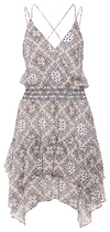 Moon River Printed Spaghetti Strap Dress