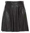 BCBGeneration Faux Leather A-Line Skirt