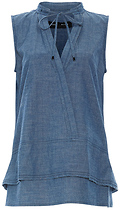 Proenza Schouler Sleeveless Top with Neck Tie