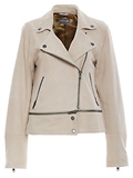 Michael Stars Suede Zip Off Jacket