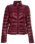 Vero Moda Quilted High Neck Zip Up Light Down Jacket
