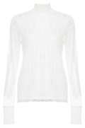 Vero Moda High Neck Lace Top