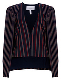 BCBGeneration Stripe Cape Jacket