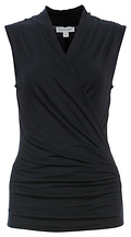 Angelica Star Cross Front Sleeveless Top
