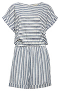 Short Dolman Striped Romper