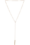 Sage & Stone Crystal Bar Lariat Necklace