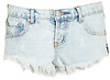 One Teaspoon Classic Bonitas Denim Shorts