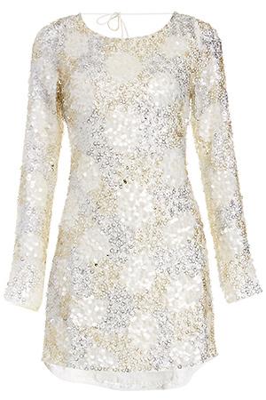 MLV Alina Sequined Dress Slide 1