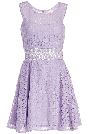 RAGA x Lace Fit and Flare Dress Slide 1