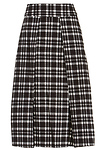 J.O.A. Plaid Midi Skirt