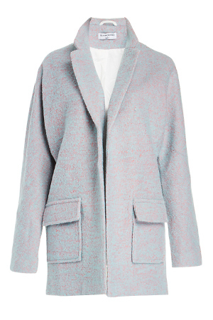 Glamorous Cotton Candy Boyfriend Coat Slide 1