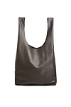 BAGGU Slouchy Leather Tote