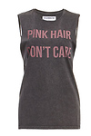 Dream Monstar Pink Hair Don't Care Cotton Tee