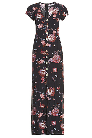 Faithfull The Brand Calypso Floral Maxi Dress Slide 1