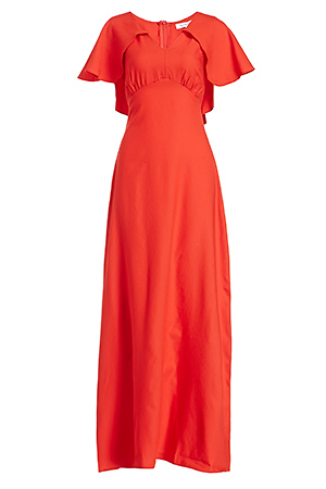 02ba175d0cd Glamorous Cape Maxi Dress in Red XS