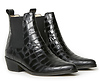 Ivylee Copenhagen Stella Pointy Low Ankle Croc Booties