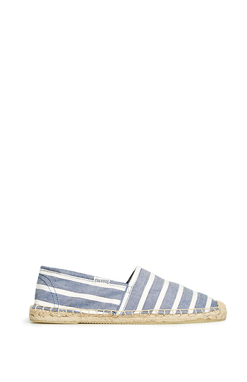 Soludos Classic Striped Espadrille Slide 1