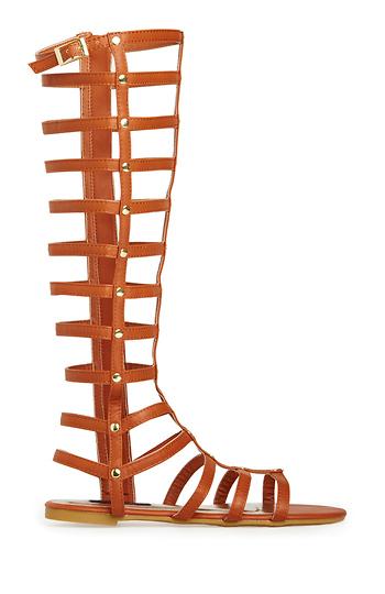 Simply Studded Gladiator Sandals Slide 1