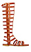 Simply Studded Gladiator Sandals Thumb 1