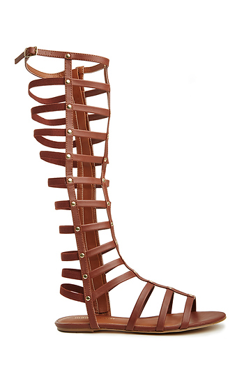 1f960dd9cce9 Madden Girl Amily Gladiator Sandals in Brown