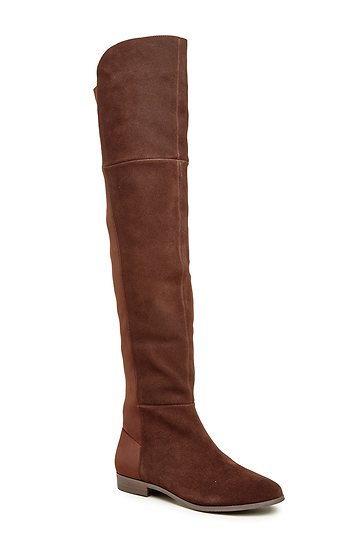d701348a5dd2 Chinese Laundry Riley Thigh High Boot in Chocolate | DAILYLOOK
