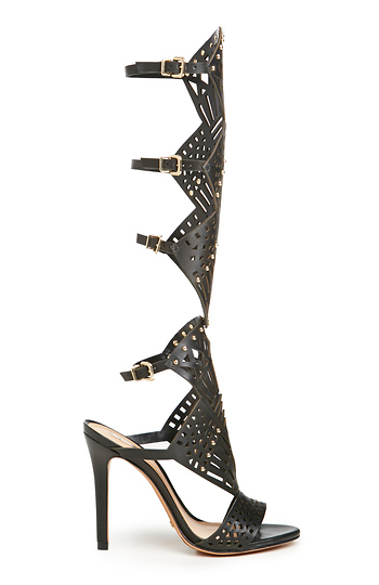 Schutz Leather Brasiliana Gladiator Sandals Slide 1