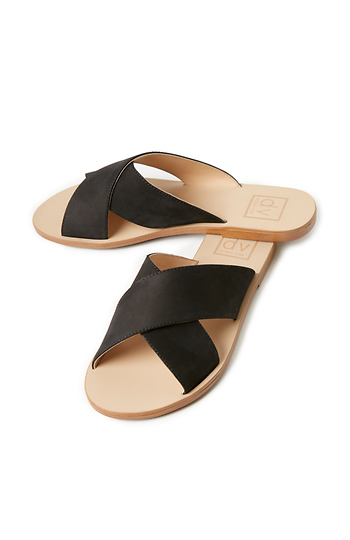 Dolce Vita Orra Simple Slide Leather Sandals Slide 1