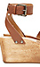 Kelsi Dagger Brooklyn Leather Willow Ankle Strap Platform Heel Thumb 3
