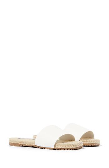 Kaskade Vegan Leather Slide Sandals Slide 1