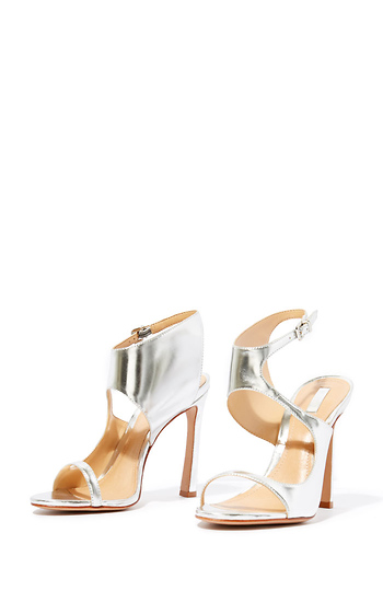 Schutz Sleek Wrap Heels Slide 1