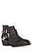 Metallic Cutout Ankle Boots Thumb 1