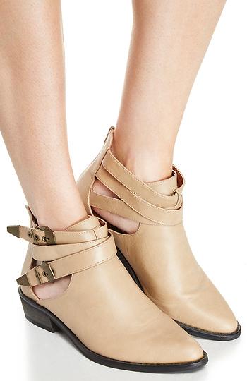 Cutout Ankle Boots Slide 1