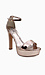 Rose Gold Sandal Heels Thumb 1
