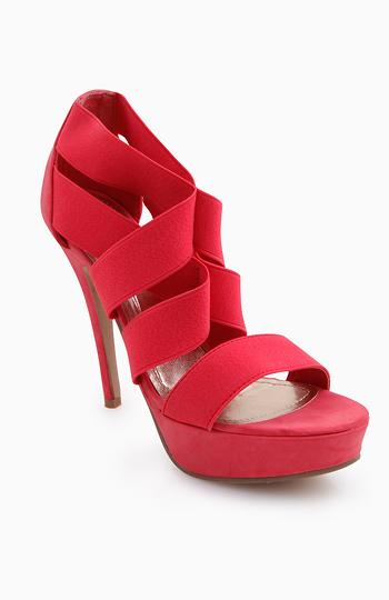 Elastic Strap Sandals Slide 1