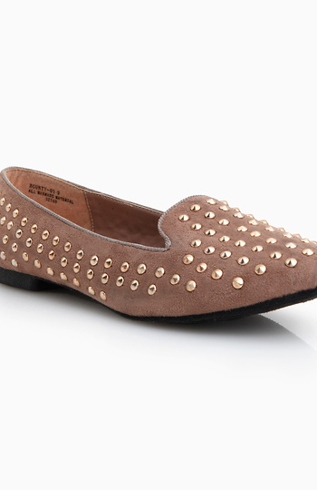 Studded Loafers Slide 1