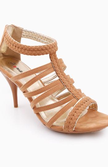 Braided Gladiator Sandals Slide 1